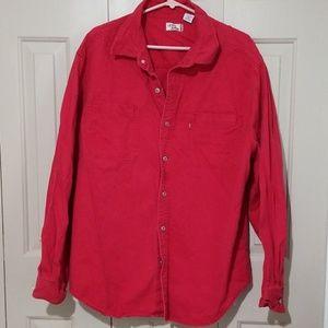 Levi's vintage Red denim shirt